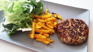 Steak veggie