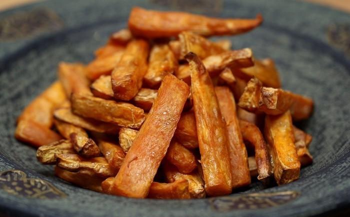 cuisson de la patate douce