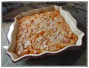 clafoutis aux abricots version avec thermomix recette iterroir. Black Bedroom Furniture Sets. Home Design Ideas