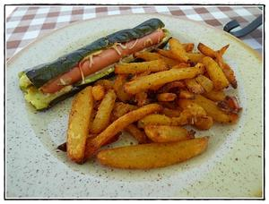 hot dog de courgettes recette iterroir. Black Bedroom Furniture Sets. Home Design Ideas