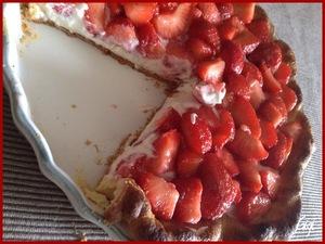 tarte aux fraises et mascarpone recette iterroir. Black Bedroom Furniture Sets. Home Design Ideas