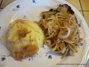 Foie de boeuf et sa tomb e d 39 oignons recette iterroir - Cuisiner le foie de boeuf ...