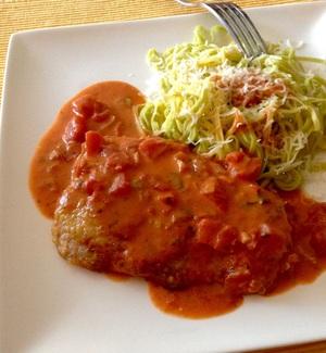 escalope de veau sauce tomates au gorgonzola recette iterroir. Black Bedroom Furniture Sets. Home Design Ideas