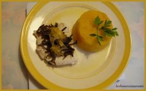 Filet de julienne au cuit vapeur et sa sauce au gingembre - Cuisiner filet de julienne ...