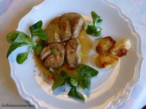 foie gras frais po l aux pommes recette iterroir. Black Bedroom Furniture Sets. Home Design Ideas