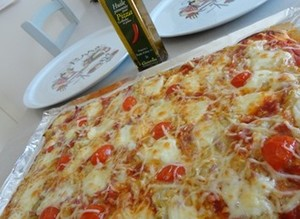 Pizza endives et jambon