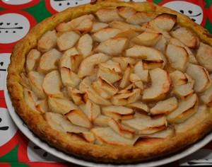 Tarte aux pommes et la cr me de marrons recette iterroir - Cuisiner des marrons en boite ...