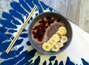 Porridge Bowl aux fruits