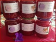 Confiture de fraises, orange et gingembre