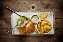 "Le fish and chips, un plat ""so british"""